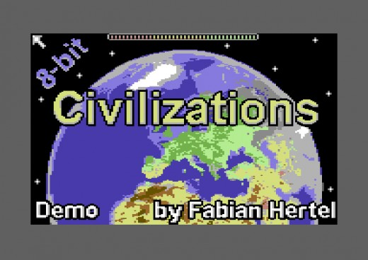 8-bit Civilizations – zahrajte si demo Civilizace pro Commodore 64