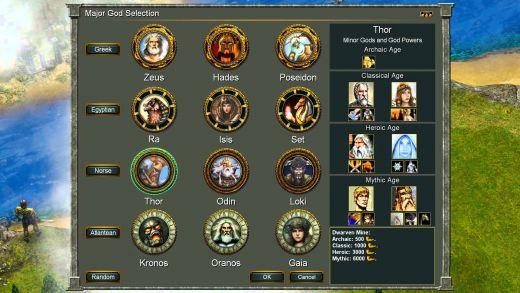 Hrali jste: Age of Mythology?