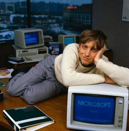 Bill Gates a tajná kariéra top modela