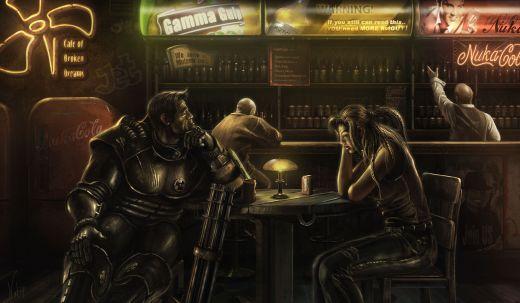Máte rádi Fallout? Vítejte v Café of Broken Dreams!