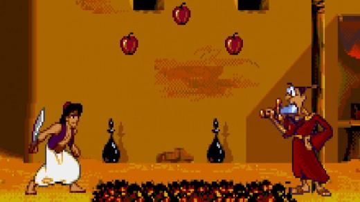 Aladdin rozpitván: zdrojové kódy, nepoužitá grafika, ztracený poklad!
