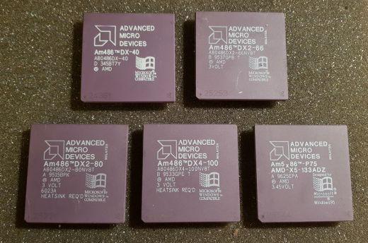 Obrazom: nostalgická retro zbierka CPU