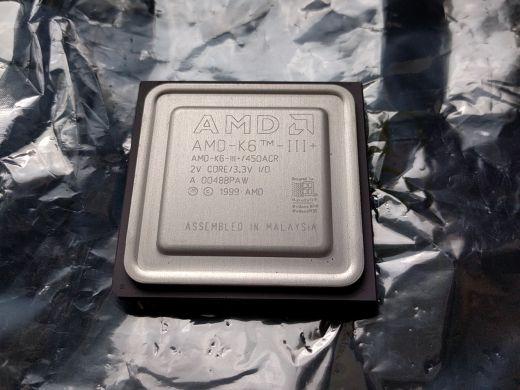HW koutek: AMD K6-III+ 450MHz