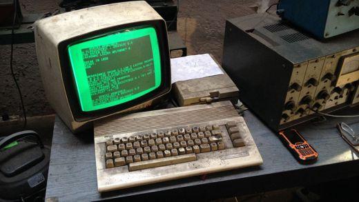 Commodore 64 v akci a s falloutí patinou