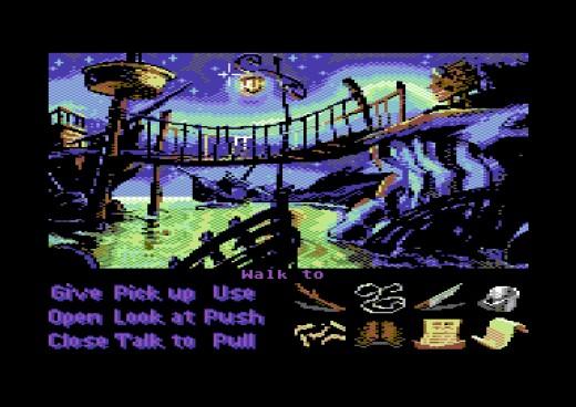 Monkey Island na Commodore 64?