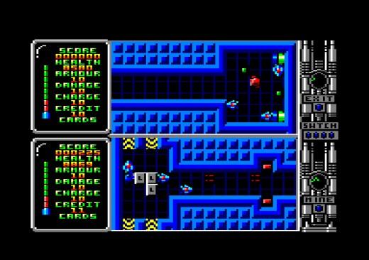 Ztraceno a nalezeno: Captain Fizz pro Amstrad CPC