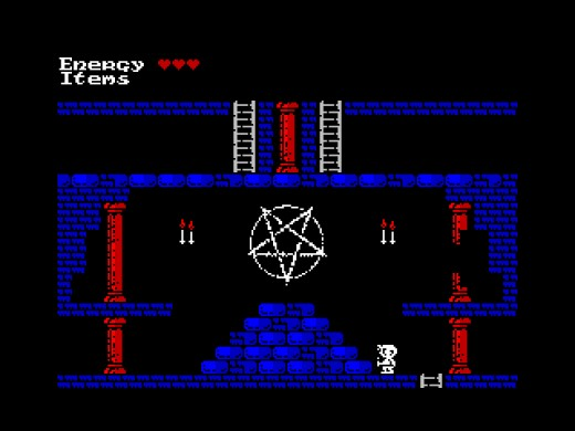 Castle of Sorrow, temná hopsačka pro ZX Spectrum