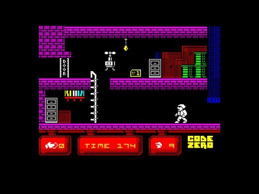 Code Zero, nová hra pro ZX Spectrum
