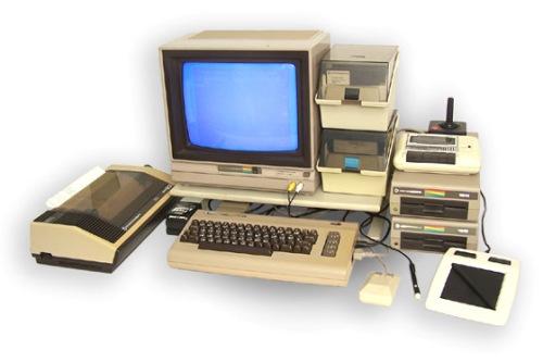 Měsíc s Commodore 64