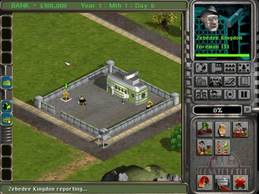 Budovatelská strategie Constructor z roku 1997 zdarma na GOG