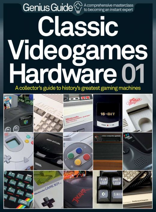 Classic Videogames Hardware Genius Guide, retroherní ebook