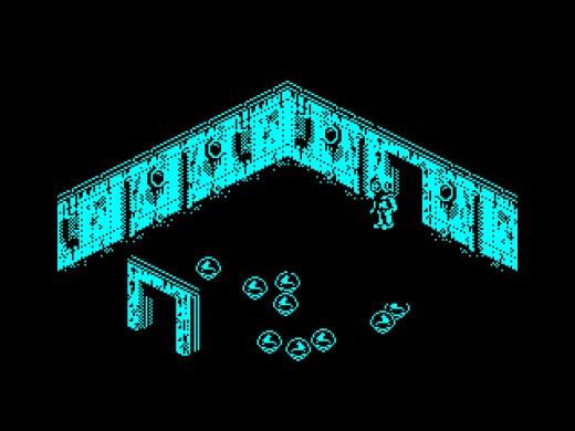 Deep Blue, podvodní izometrická novinka pro ZX Spectrum
