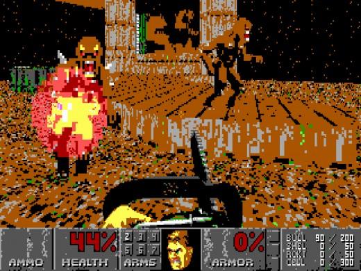 Doom v EGA grafice
