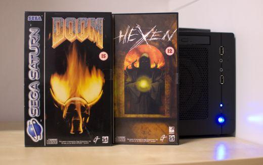 Přírůstek do sbírky – Doom a Hexen pro SEGA Saturn