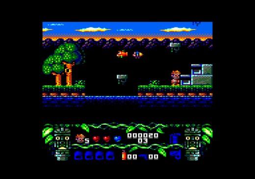 The Lost Treasure of Cuauhtemoc, nová hra pro Amstrad CPC