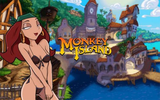 Monkey Island - Elaine Bikini