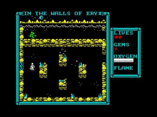 In the Walls of Eryx, novinka pro ZX Spectrum