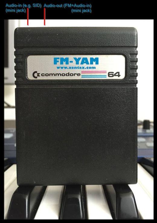 FM-YAM, Sound Expander kompatibilní cartridge pro C64