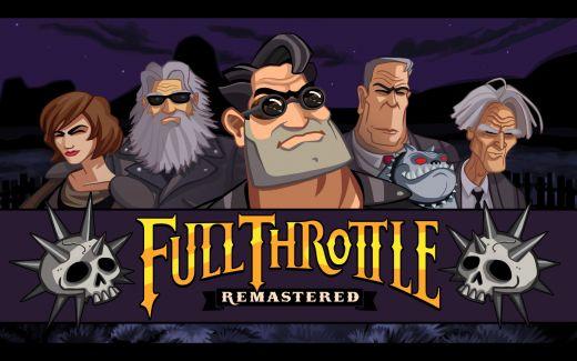 Krátké dojmy z Full Throttle Remastered