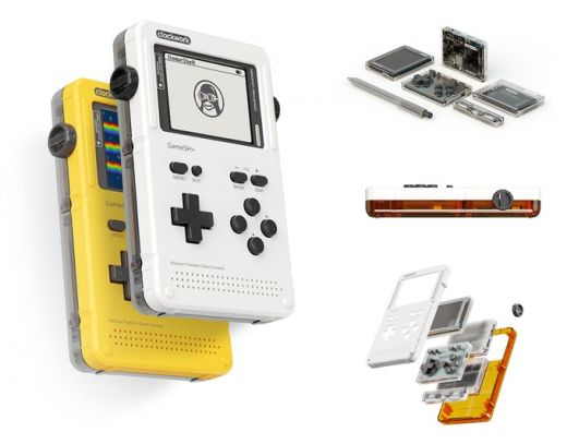 GameShell, modulární přenosná herní konzole