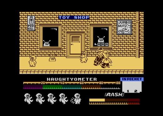 Jack The Nipper, novinka pro osmibity Atari