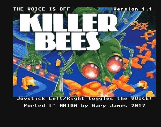 KillerBees, port z Magnavox Odyssey² na Amigu