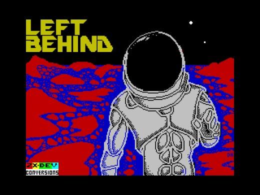Left Behind, Marťanem inspirovaná novinka pro ZX Spectrum
