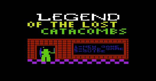 Legend of The Lost Catacombs, nová hra pro Commodore VIC-20