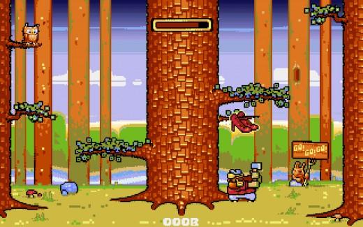 Předobjednejte si Lumberjack Reloaded, novinku pro Amigy