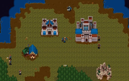 Zahrajte si demo retro real-time strategie Loria