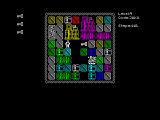 Mazeract, novinka pro ZX Spectrum