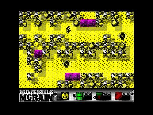 Wolfcastle McBain, akční novinka pro ZX Spectrum
