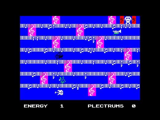 Mike, the Guitar – hudební hra pro ZX Spectrum