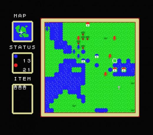 Motkonqe, strategická novinka pro MSX