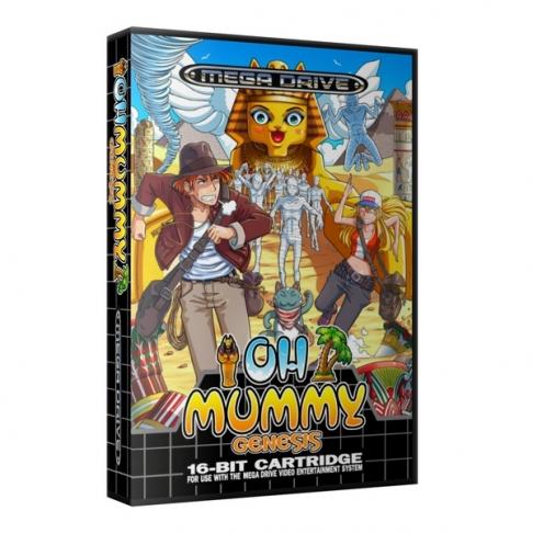 Oh Mummy – zbrusu nová hra pro Mega Drive (Genesis)