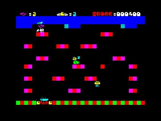 Omelettes for Breakfast, dietní novinka pro ZX Spectrum