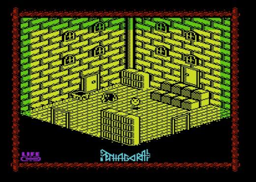 Pentagorat, izometrická novinka pro Commodore VIC-20