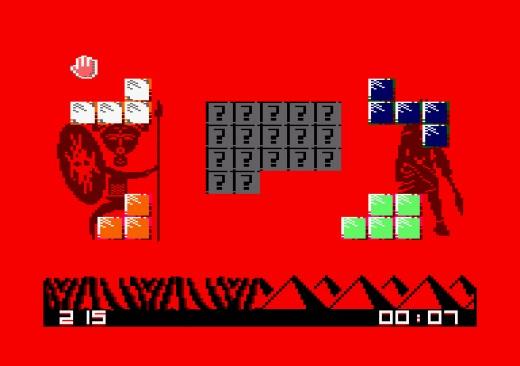 Pentomino, nová puzzle hra pro CPC