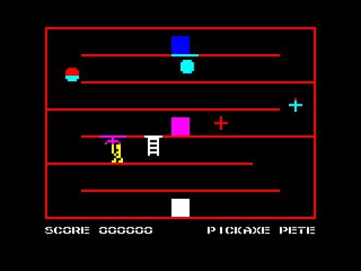 Pickaxe Pete, novinka pro ZX Spectrum