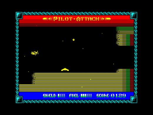 Pilot Attack, nová hra pro ZX Spectrum