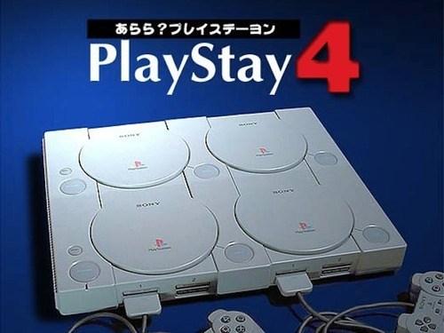 Novinka - tzv. SLI mód, neboli řetězení. Výkon dosažený čtveřicí Playstationů je vskutku nadpozemský.