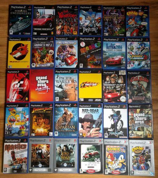 Obrazem: mé PS2 statky
