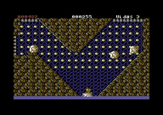 Rowman, nová hra pro Commodore 64