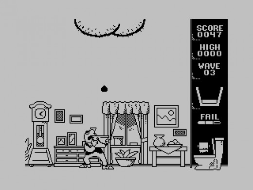 Scuttle Butt, chytač bobků pro ZX Spectrum