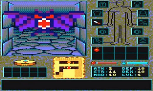The Shadows of Sergoth, nový dungeon pro Amstrad CPC