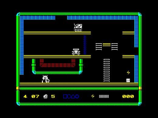 Robot 1 in … THE SHIP OF DOOM, nová hra pro ZX Spectrum