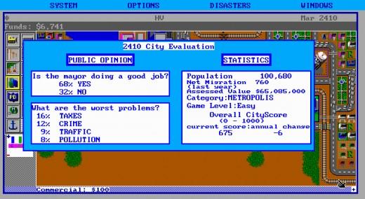 Výzva: populace v SimCity
