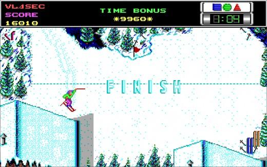 Výzva: downhill blitz ve Ski or Die
