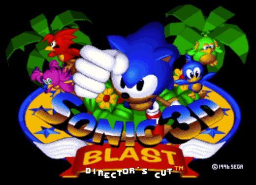 """Sonic 3D Blast se dočká """"režisérské"""" verze"""