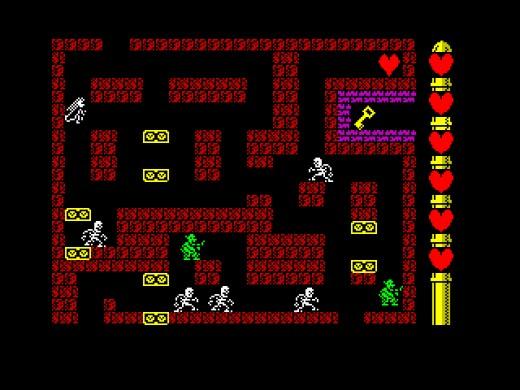 Sorceress, nová hra pro ZX Spectrum